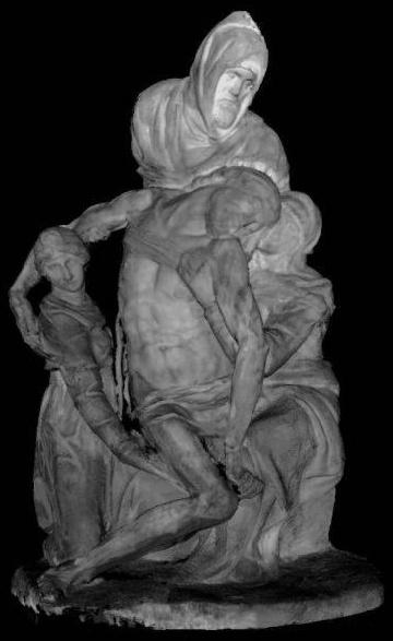 Εικόνα 73. Florentine Pieta - Michalangelo